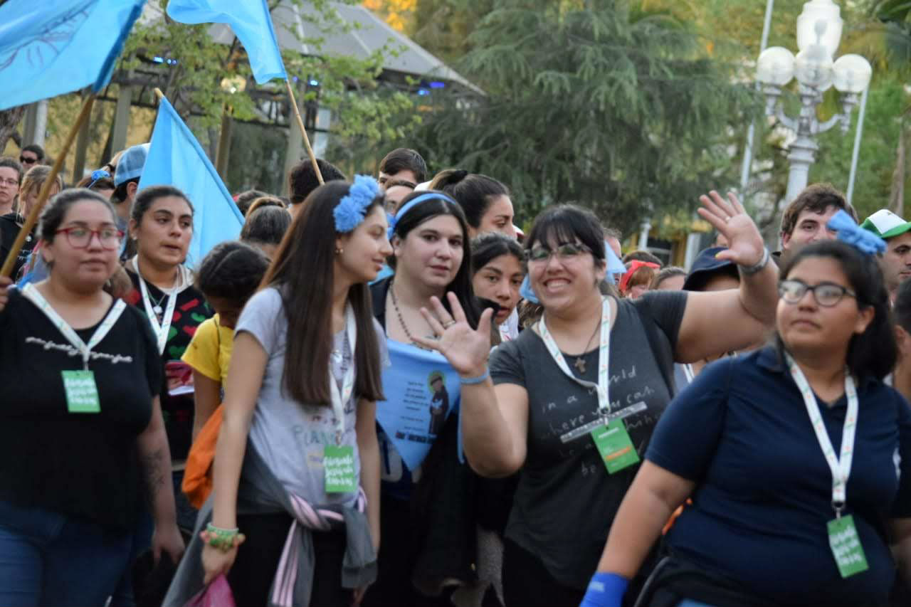 Concordia recibió a jóvenes de Santa Fe y distintas comunidades de Entre Ríos.
