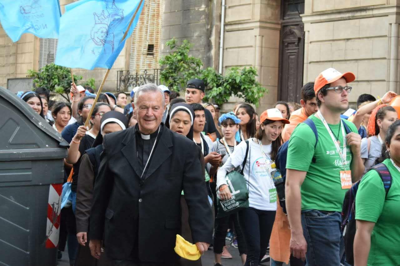 Monseñor Cardelli volvió a Concordia, donde fue fue Obispo entre 1998 y 2004.