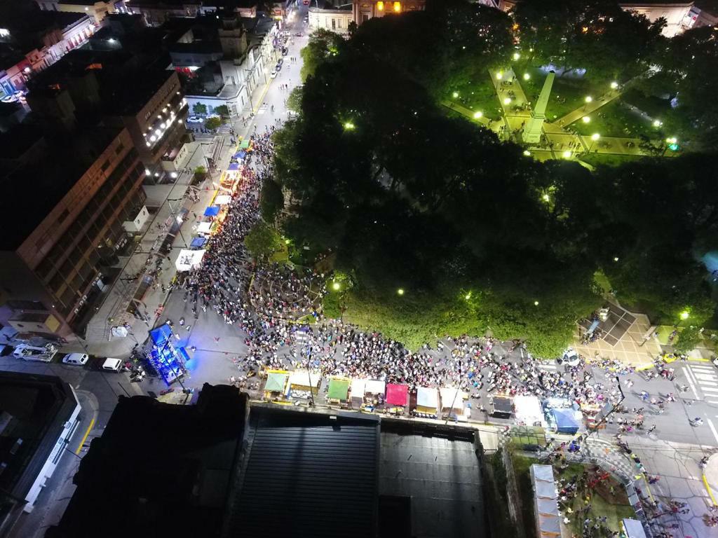 Plaza Ramírez es el sitio donde se hará la Feria este sábado.
