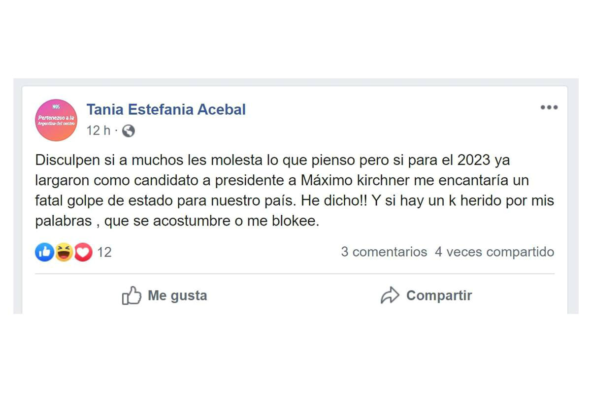El Estado de Tania Acebal