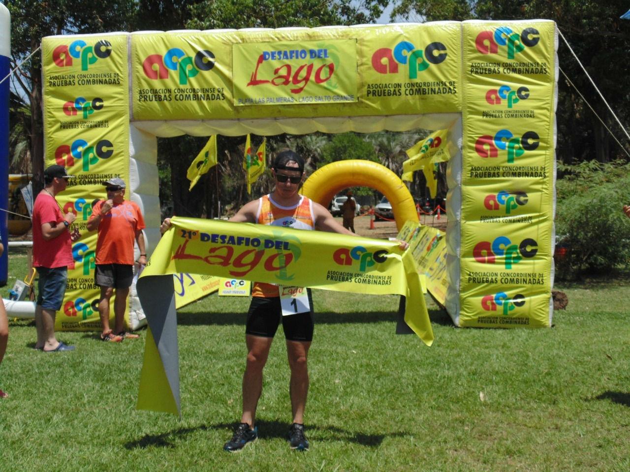 Janin fue el ganador, en individuales. Detrás llegaron Ferrier y Mendez.