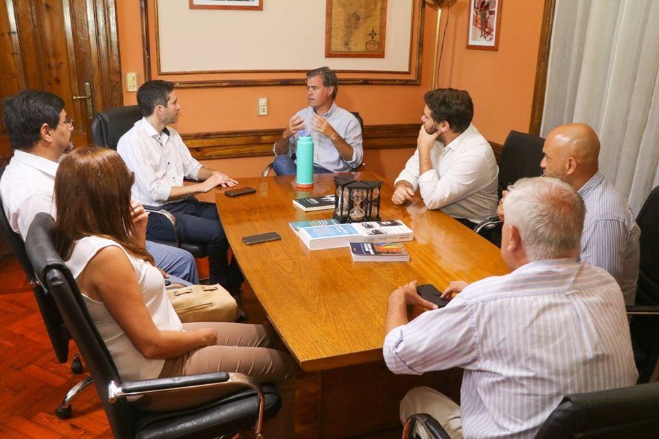 El intendente de Gualeguaychú recibió al nuevo presidente del C.G.E.