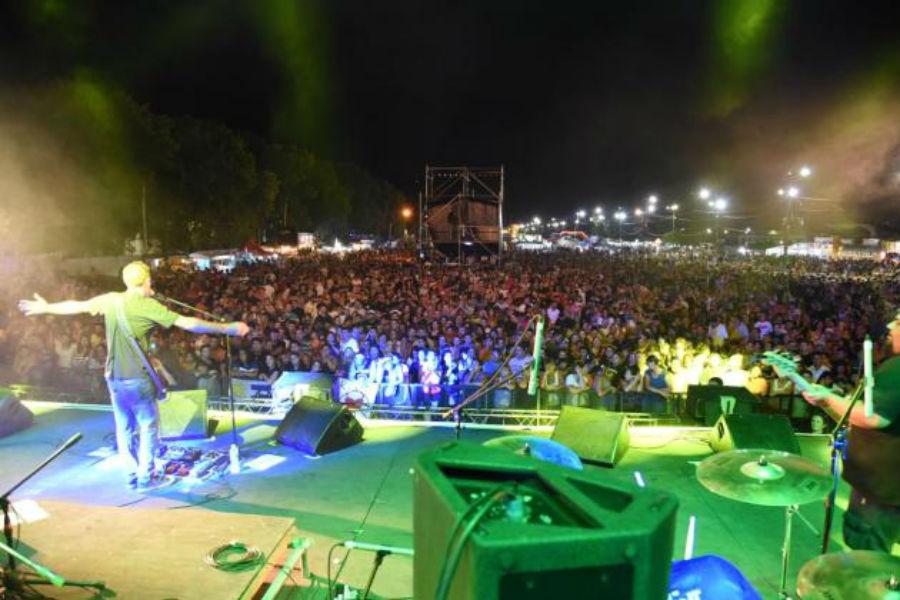 El cierre quedó para La Beriso ante un numero público en el Multieventos.