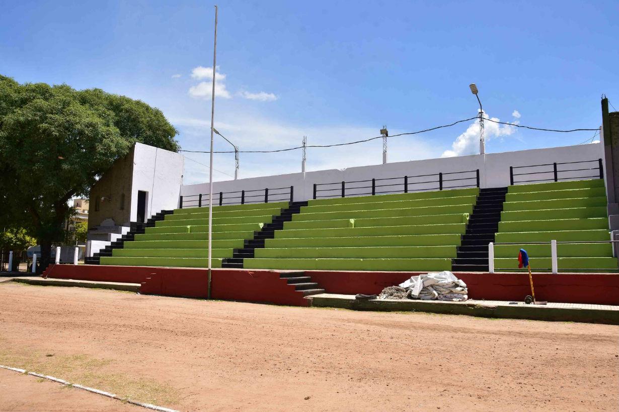 El Predio del Parque Quirós va quedando listo para la edición 2020 de la máxima fiesta colonense.