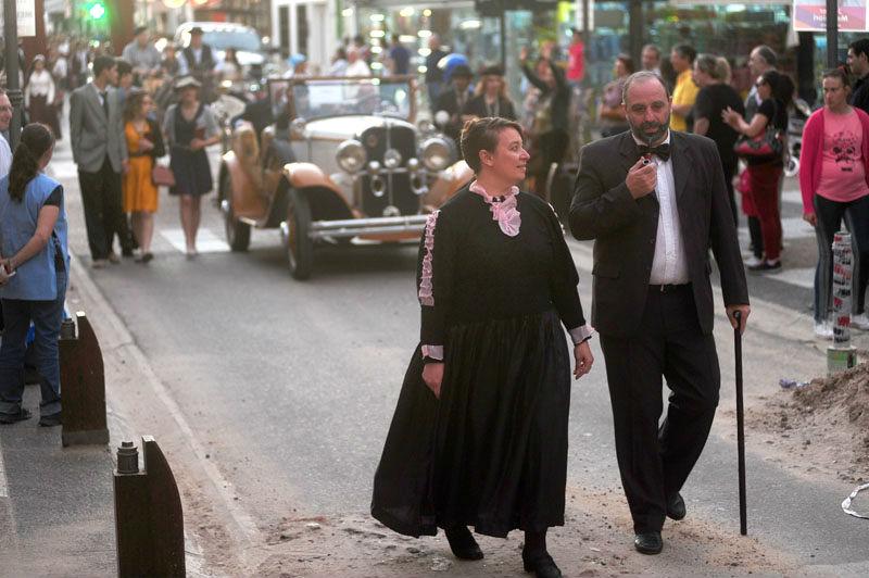 Aquel desfile de 2015, con figuras de Malvina Seguí y Don Luis Clavarino encabezando el desfile.