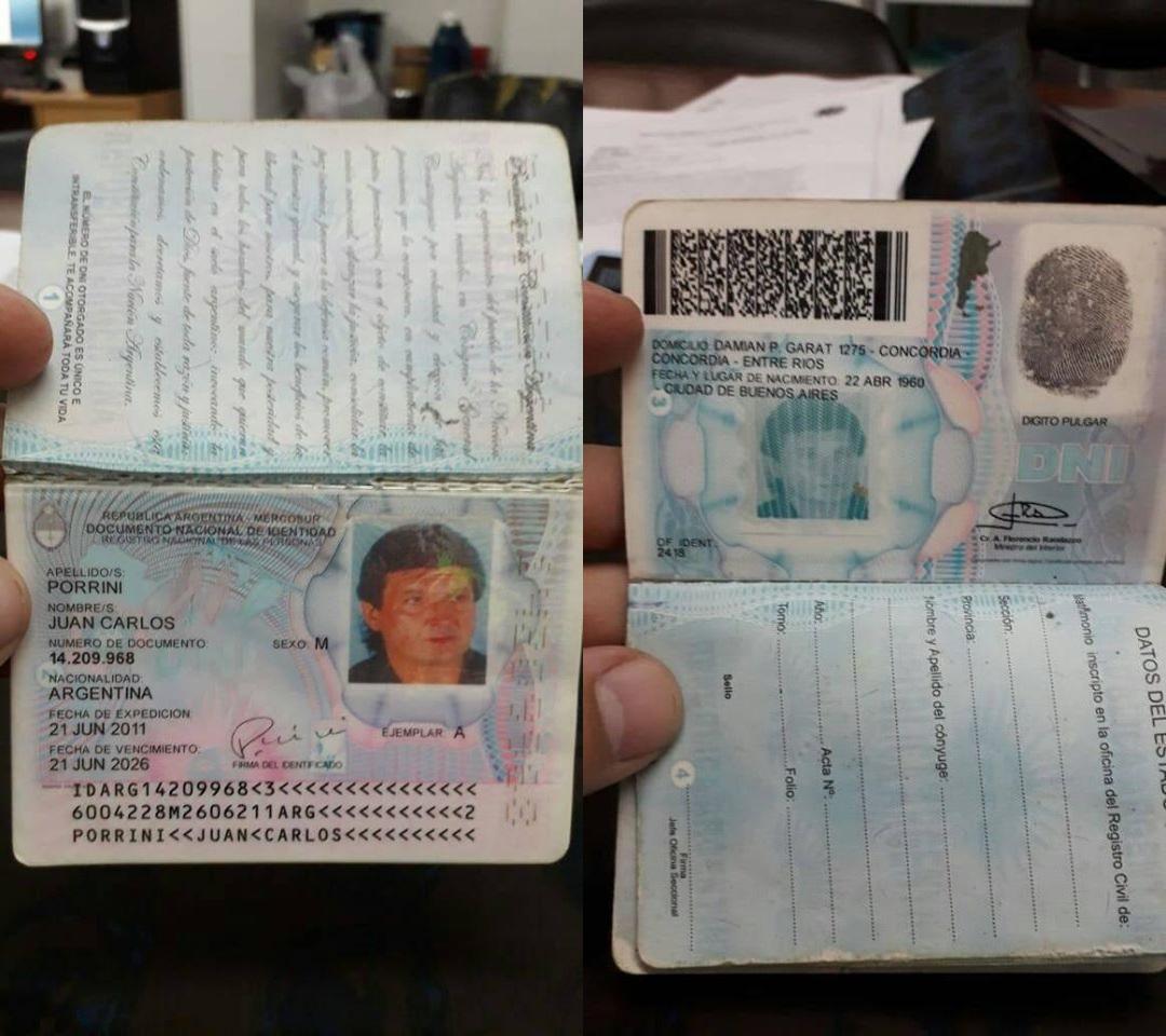 Las fotos del documento, compartidas en redes por la doctora Avalos