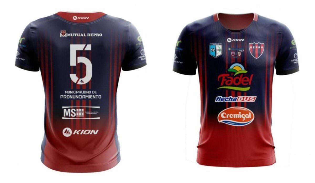 Esta será la camiseta que estrenará el club de Pronunciamiento ante River.