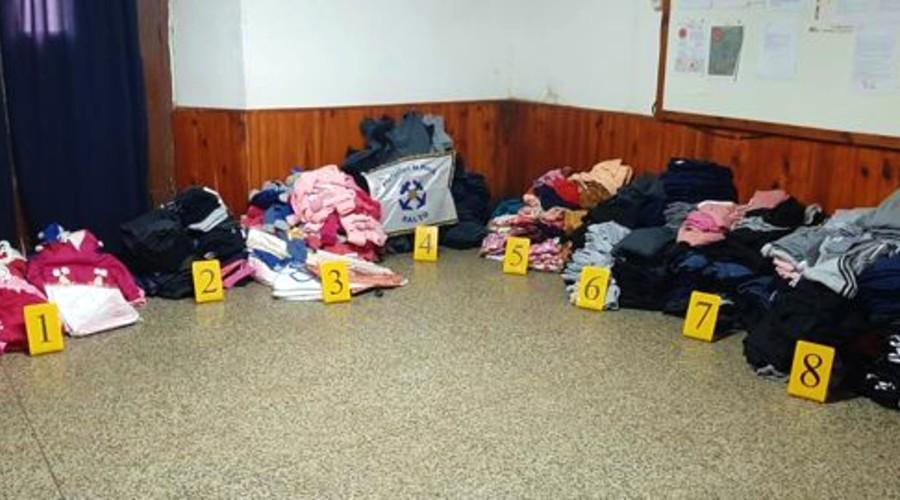 Esta es la carga secuestrada por Prefectura de Salto, ciudad vecina a Concordia.