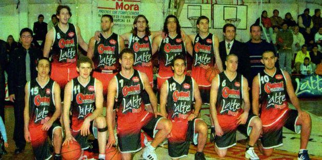 Equipo campeón de Central Entrerriano que integró Sciutto.