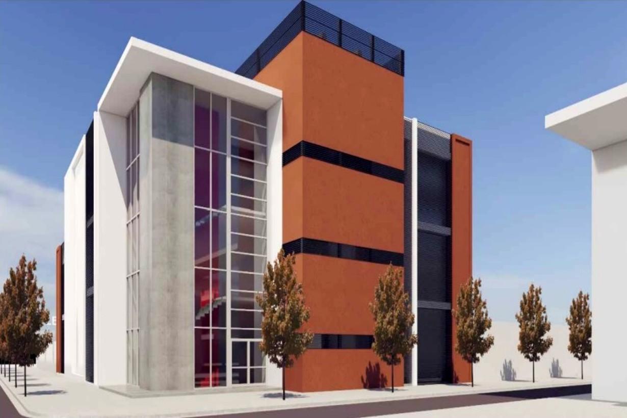 El gobierno provincial mostró cómo quedaría el edificio, una vez concluidas las obras de reparación.