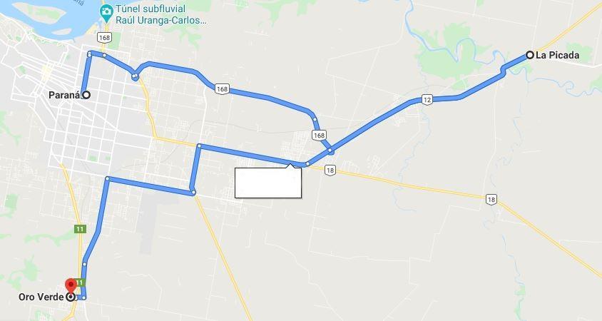 Los tres puntos de la provincia que proyectan conectar con tren