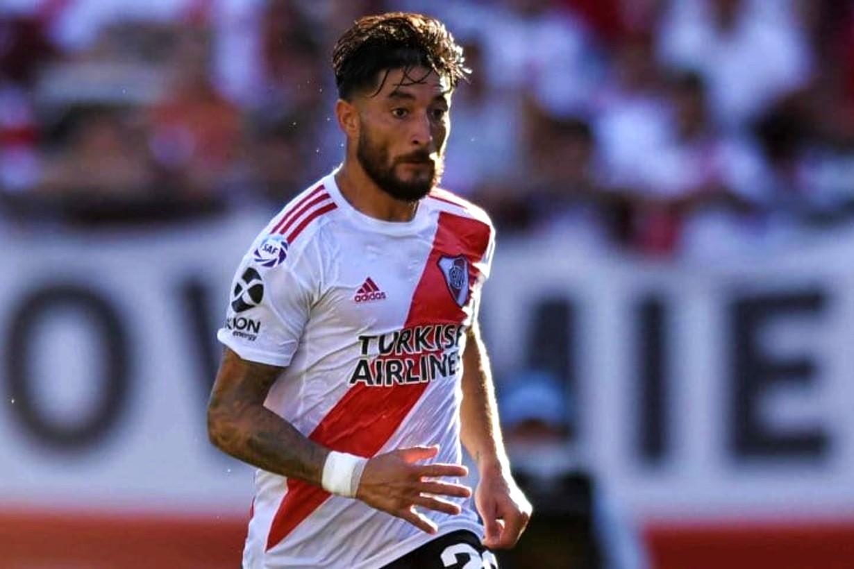 El de María Grande juega en River desde septiembre de 2015.