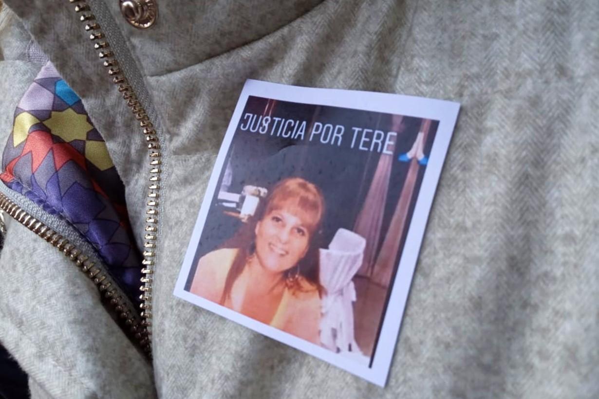 La imagen de la docente jubilada, asesinada hace exactamente una semana.