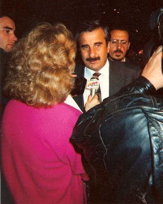 Mario Moine en sus tiempos de gobernador