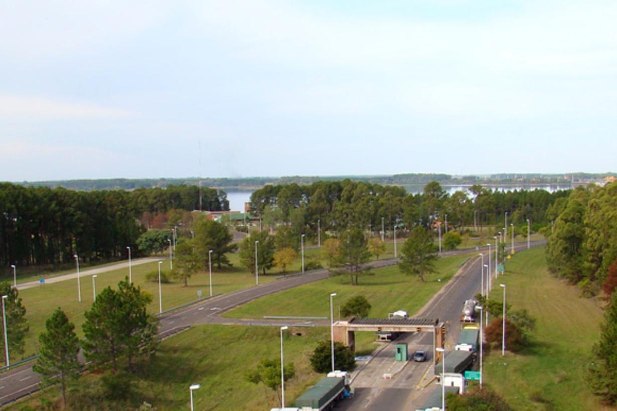 En esa zona de frontera entre Concordia, Argentina; y Salto, Uruguay, estará el nuevo hospital modular.