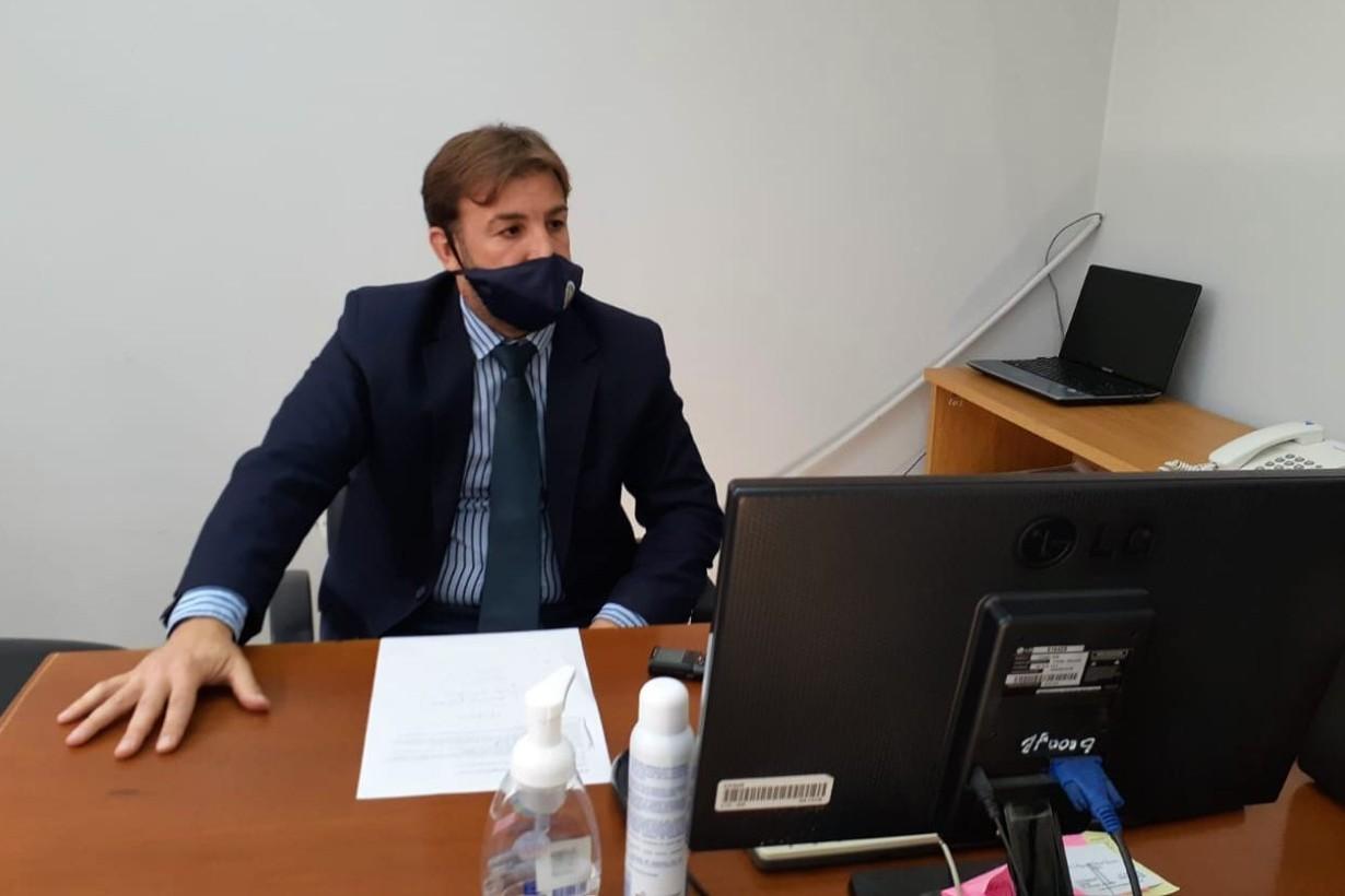 El doctor Temporetti es el fiscal a cargo de la investigación.