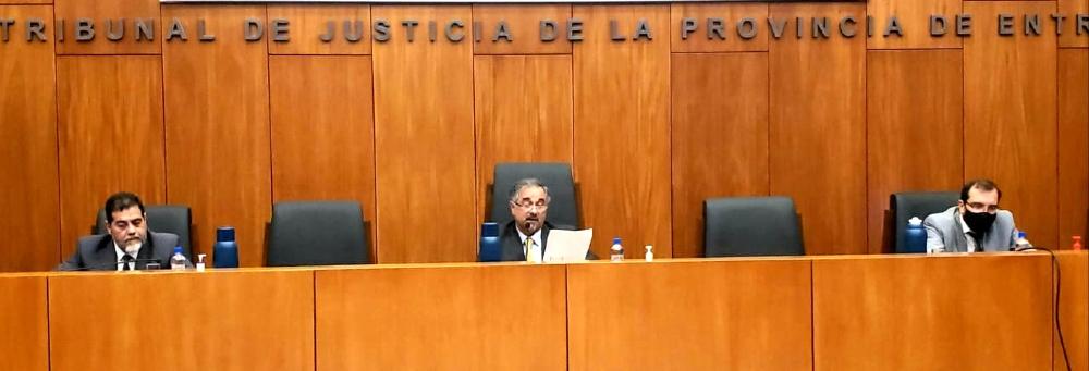 El juez Pablo Vírgala presidió la audiencia en la que se absolvió al exintendente de Crespo.