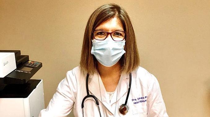 La hematóloga Sandra Pías habló de una disminución en la cantidad de donantes.
