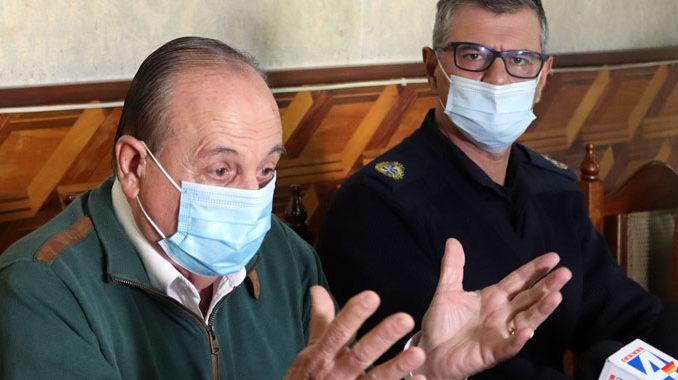 El doctor Leoni es el director departamental de Salud.