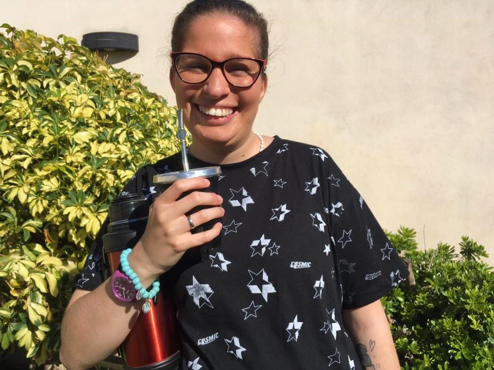 Radiante: Sofía actualmente estudia Filosofía y Letras en Rosario, Santa Fe.