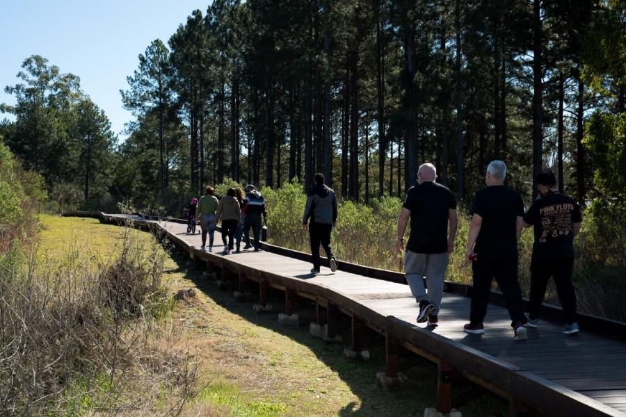 El Ecoparque en el lago de Salto Grande, otro atractivo para turistas y locales.