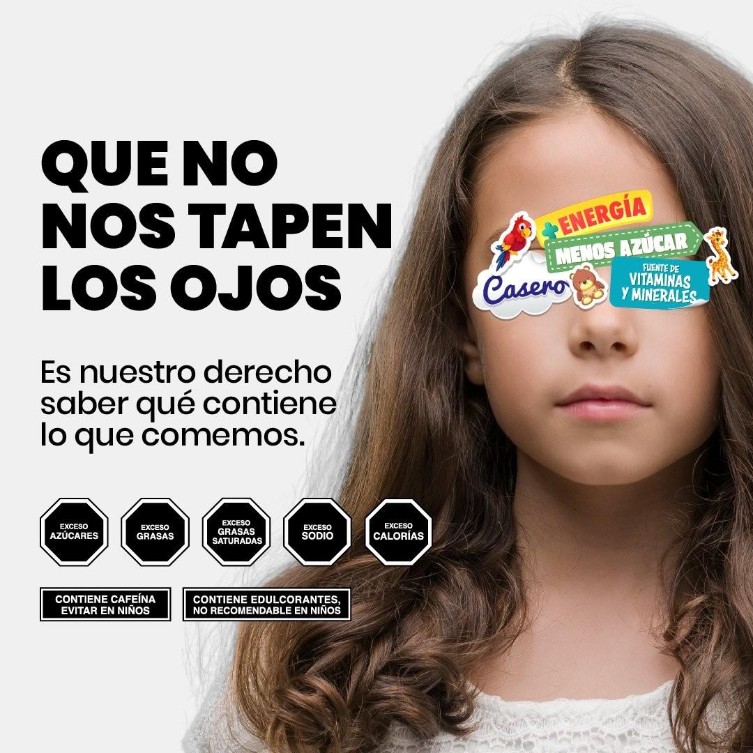 Una de las imágenes de la campaña argentina a favor del proyecto de ley.