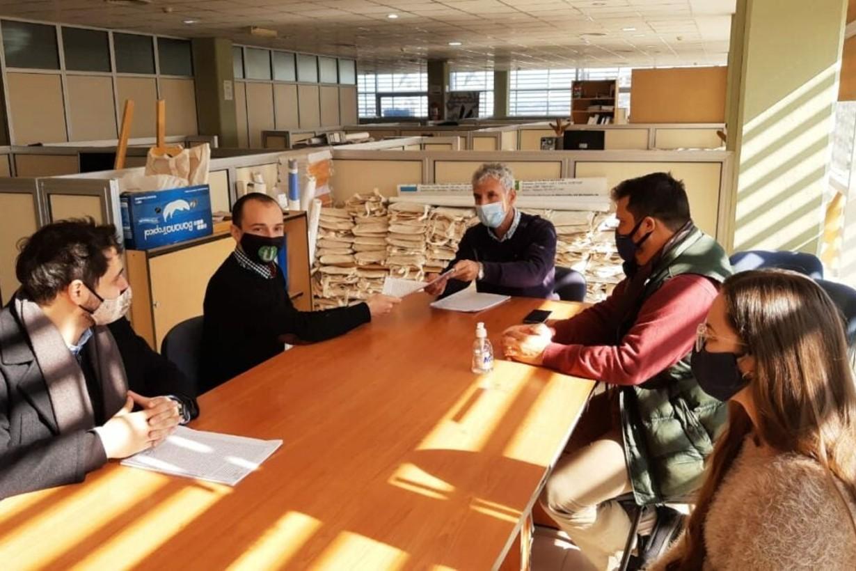 Los integrantes de La Entrerriana el día que se constituyó legalmente la cooperativa.