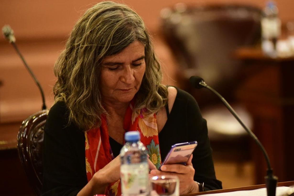 La diputada Gracia Jaroslavsky, quien impulsó el proyecto