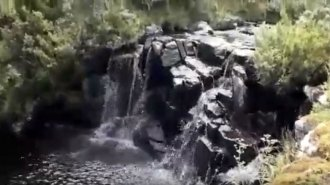 Allí empieza a nacer el río Uruguay