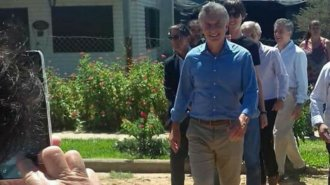 Macri visitó a una productora artesanal de mermeladas