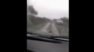 Las lluvias dejan al descubierto otra vez el pésimo estado de las rutas
