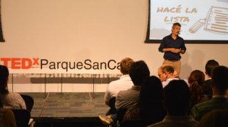 Financiá tu idea, lo propone Ramiro Buteler desde TEDx Parque San Carlos