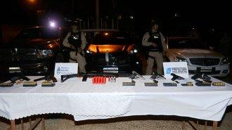 Secuestraron casi $40 millones y 11 autos de alta gama en Concordia