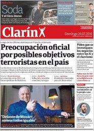 Ampliar tapa: Clarín