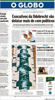 Ampliar tapa: O Globo