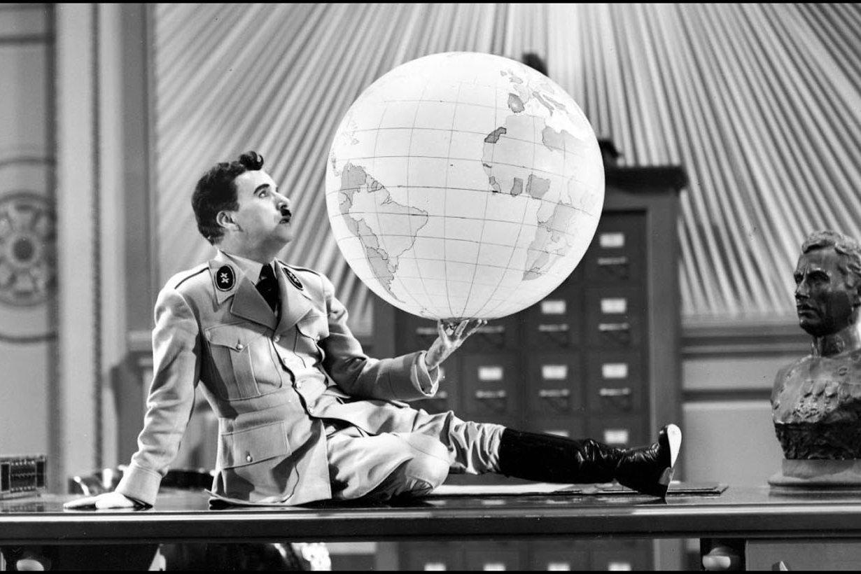Chaplin en El Gran Dictador