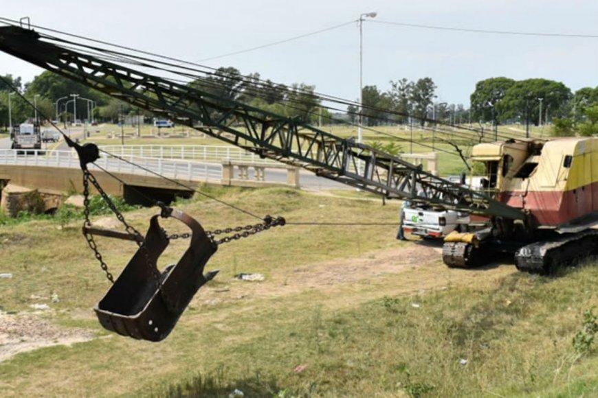 Limpiará el arroyo que desemboca en el Uruguay.