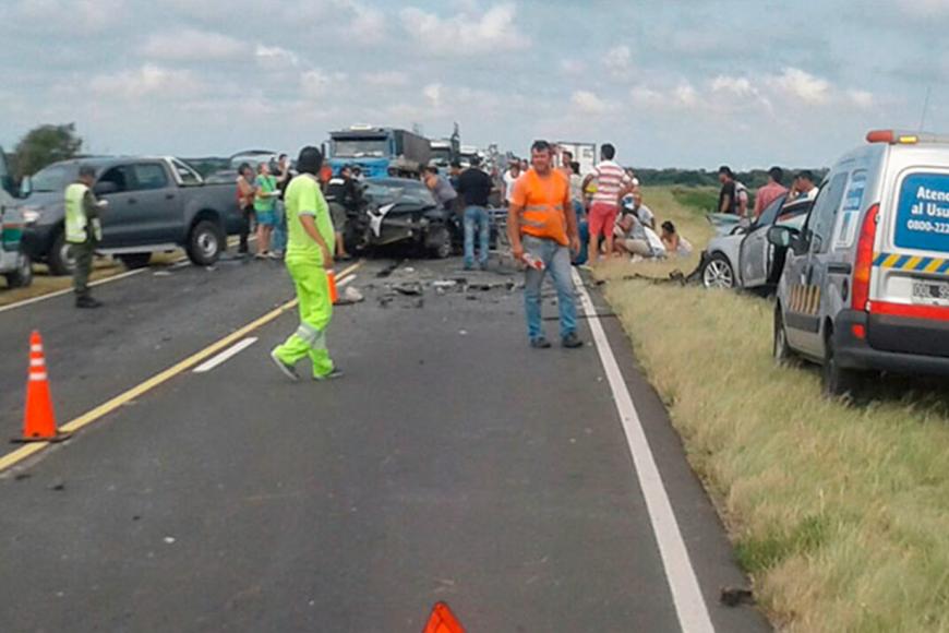 El fin de semana murieron 4 en un accidente.