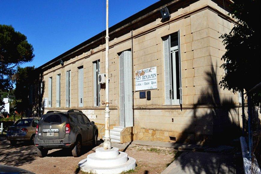 San Benjamín, el hospital de referencia regional.