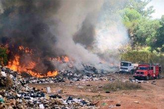 Incendio en el basural: la fiscalía busca determinar si hubo delito
