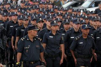 El entrenamiento policial, en la mira del gobierno provincial