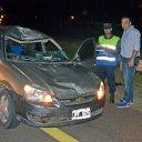 Camionero murió atropellado en la Autovía Artigas