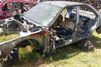 Secuestraron decenas de partes de autos robados