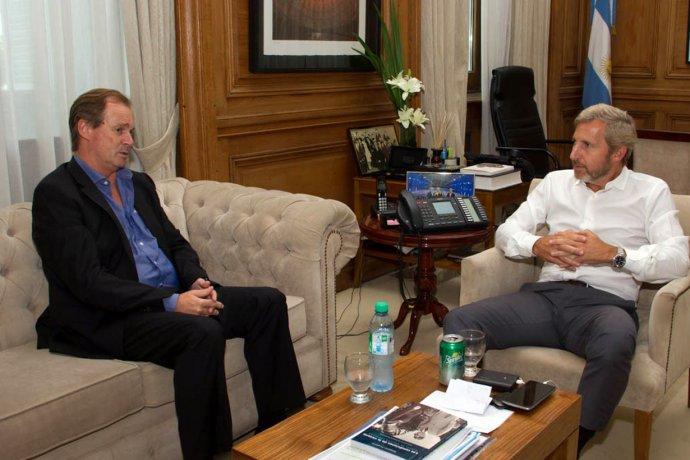 Bordet y Frigerio acordaron avanzar en la reforma electoral