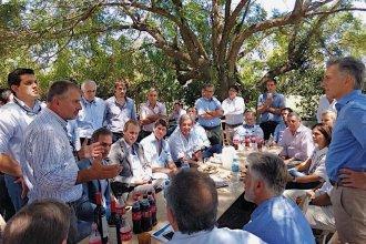 Arroceros de San Salvador fueron recibidos por Macri