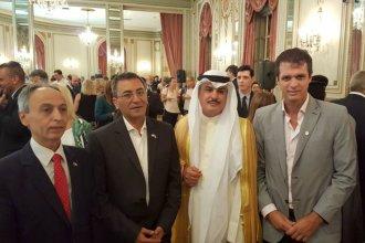 Cresto celebró con el embajador de Kuwait
