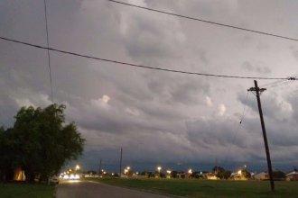 3 ciudades entrerrianas, en alerta por tormentas fuertes y lluvias intensas