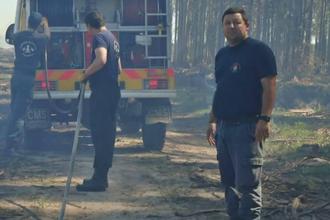 ¿Quién es el bombero entrerriano que se capacitará en Escocia?