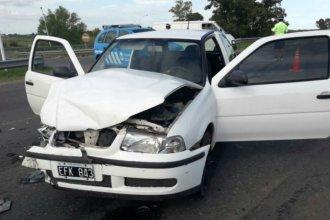 Docentes entrerrianos, heridos tras accidentarse en la ruta
