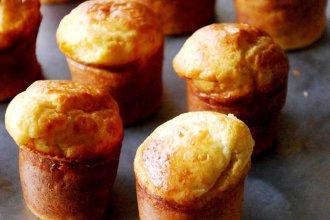 Muffins de pera y coco